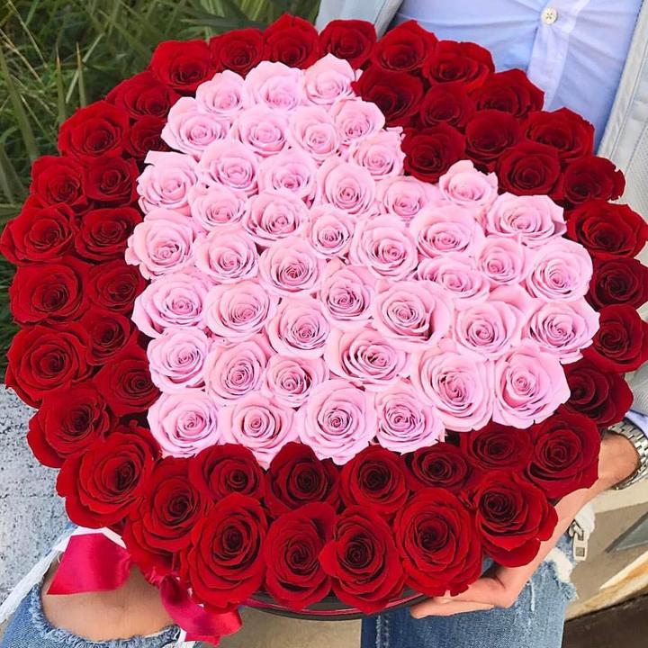 Tặng hoa hồng sinh nhật