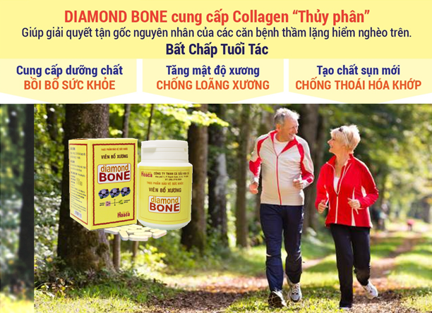 Diamond Bone Collagen thuỷ ngân