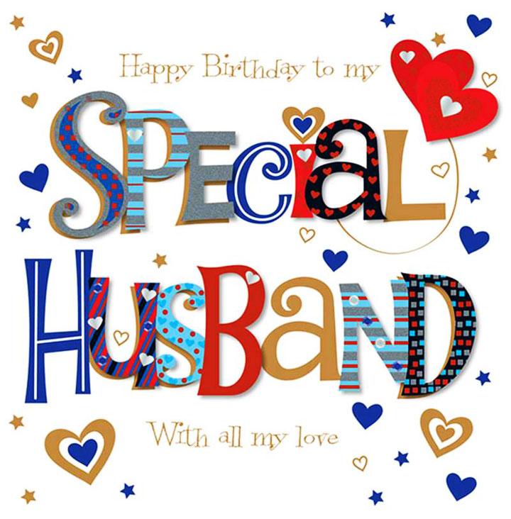 Happy birthday husband