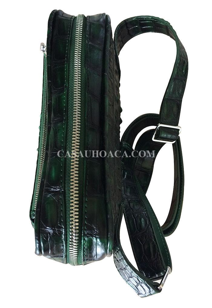 Mặt khoá dây kéo da cá sấu 00901