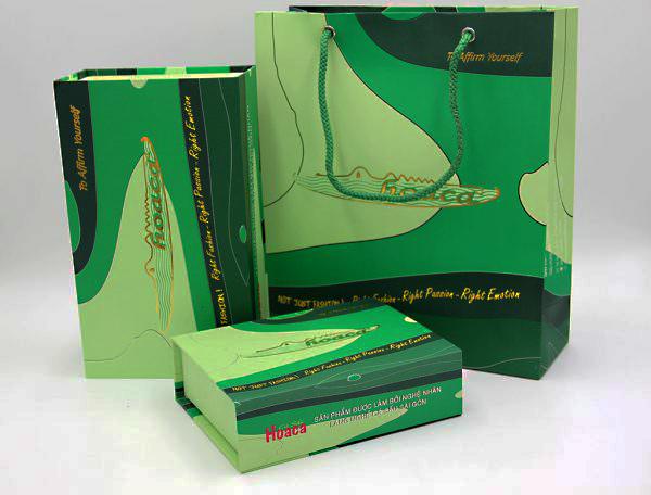 Bao bì sản phẩm thương hiệu Cá Sấu Hoa Cà