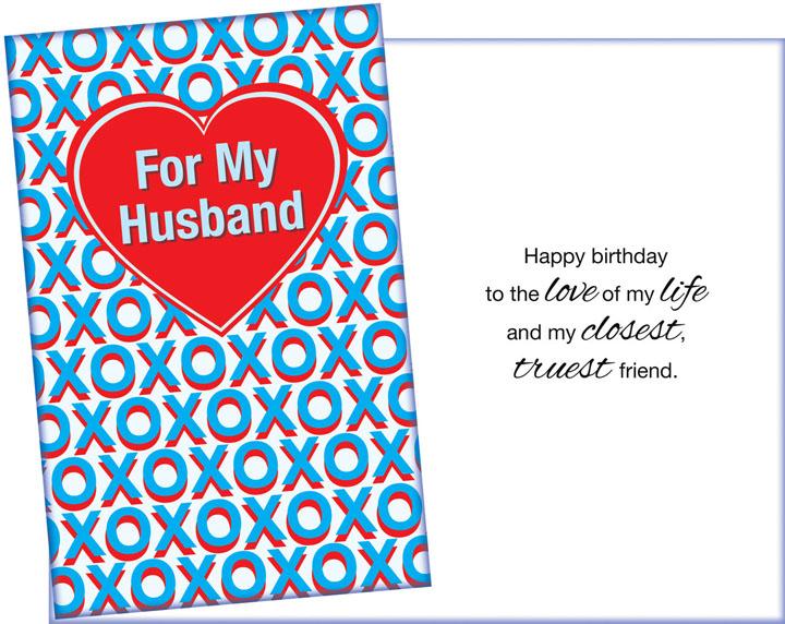 Thiệp chúc mừng sinh nhật chồng