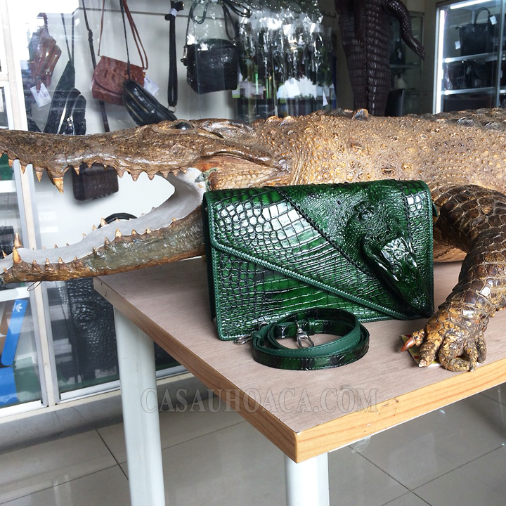Túi xách da cá sấu đặc biệt 01901