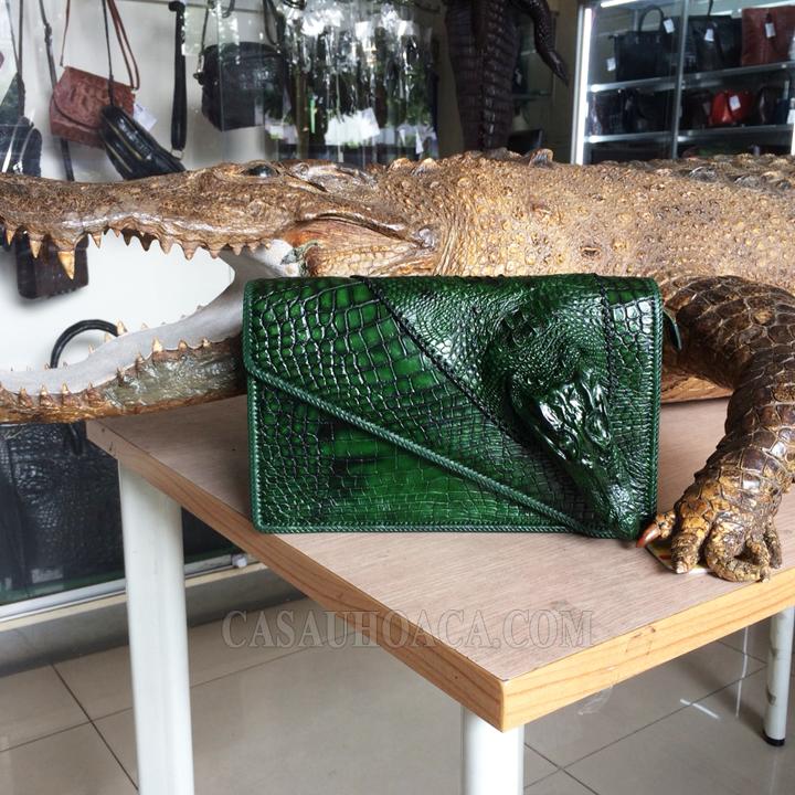 Túi xách da cá sấu đặc biệt 01901 (hình 2)