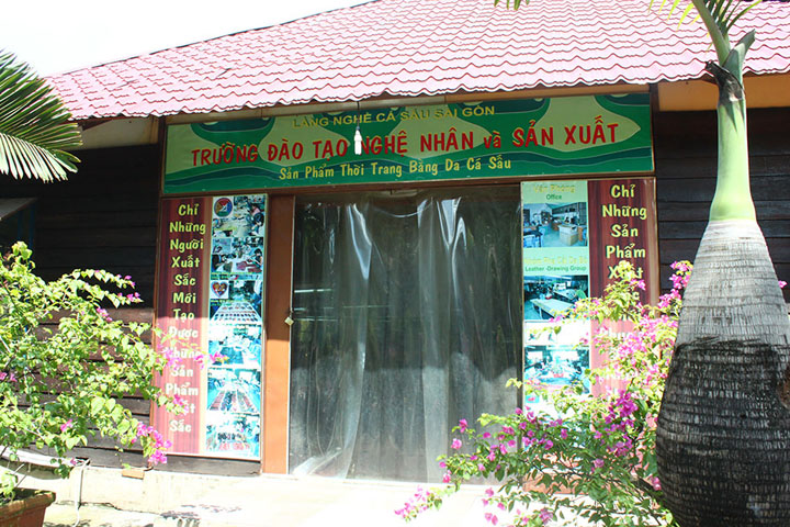 Trường đào tạo nghệ nhân Làng cá sấu sài gòn quận 12