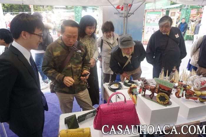 hội chợ hàng Việt Nam tại Nhật