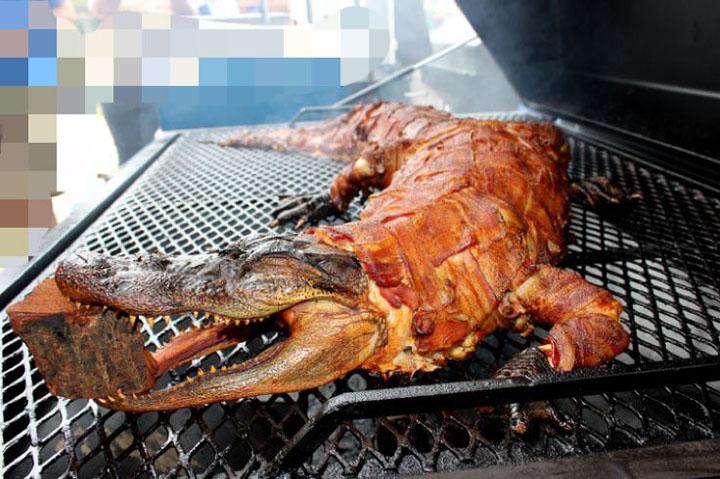 Món ăn từ thịt cá sấu hoa cà