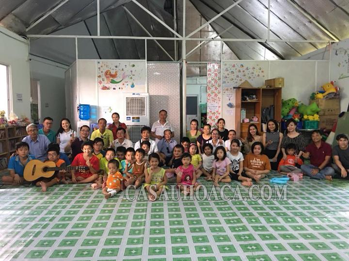 Nhà ở của các trẻ xương thuỷ tinh tại Hoa Cà