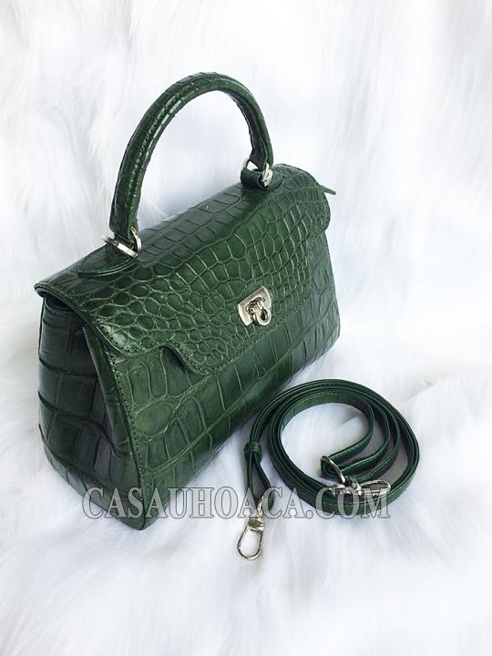Túi xách nữ da cá sấu 0197