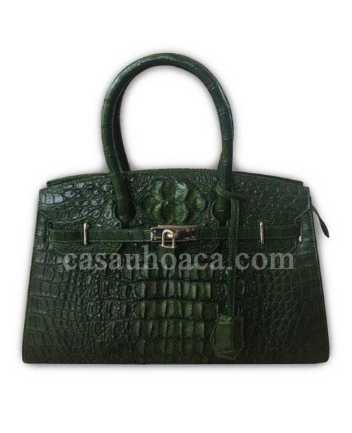 Tặng sếp túi xách da cá sấu nữ 0158