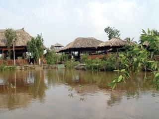 Nhà hàng cá sấu Hoa Cà ở đâu?