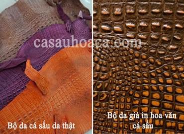 Cách nhận diện túi xách giả da cá sấu và phân biệt da cá sấu thật và giả
