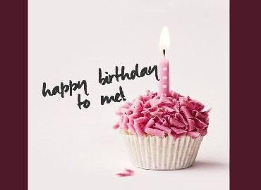 Chúc mừng sinh nhật bản thân