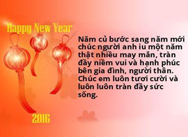 Những lời chúc năm mới cho người yêu cũ