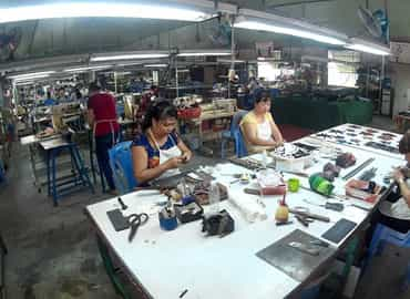 Tham Quan Trường Đạo Tạo Nghệ Nhân Làng Cá Sấu Sài Gòn