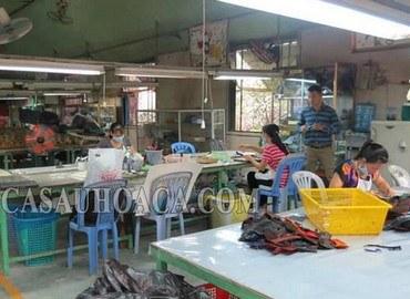 Xưởng sản xuất túi da cá sấu - Cá Sấu Hoa Cà