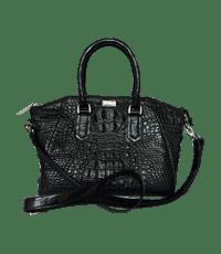 Túi xách da cá sấu Hoa Cà da nguyên con - A0161