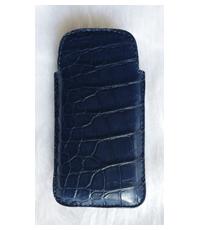 Bao da điện thoại cá sấu loại bỏ túi - 4530