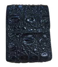 Bao mắt kính da cá sấu Hoa Cà da hông - 4521