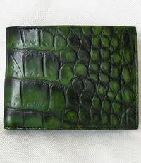 Bóp da cá sấu hoa cà da phun - 11091