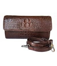 Túi đeo chéo da cá sấu nữ giảm giá - A0556