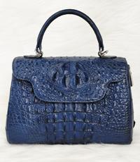 Túi xách nữ cá sấu hoa cà giảm giá - A0197