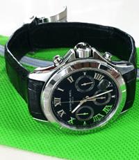 Dây đồng hồ da cá sấu bản 21, khoá 18 mm 2 mặt da hàng đặt theo mẫu - 2072