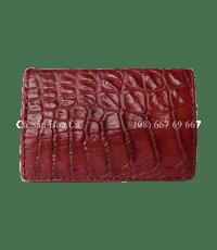 Hộp Namecard cá sấu Hoa Cà vảy chân - 4526