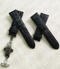 Hàng đặt dây đồng hồ cá sấu hoa cà 22-20mm-2076