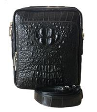 Túi đeo chéo da cá sấu nguyên con hàng cao cấp - 0201