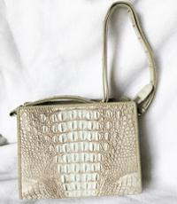 Túi da cá sấu nữ hình chữ nhật - D0009