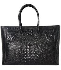 Túi xách cầm tay da cá sấu loại đại- 0195