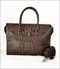 Túi xách cầm tay nam da cá sấu -0205
