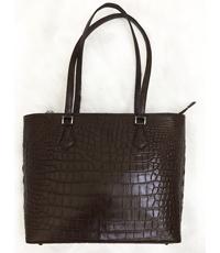 Hàng đặt túi xách da cá sấu nữ da bụng - 0187
