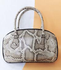 Túi xách nữ da trăn hoa cà giảm giá 20% - 9533