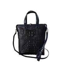 Túi xách nữ da cá sấu Hoa Cà nguyên con - 0202