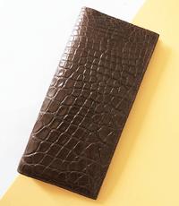 Ví passport da cá sấu hoa cà loại lớn 1043